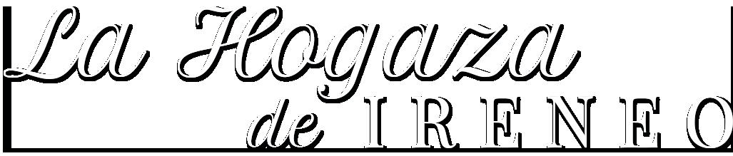 La Hogaza logo white